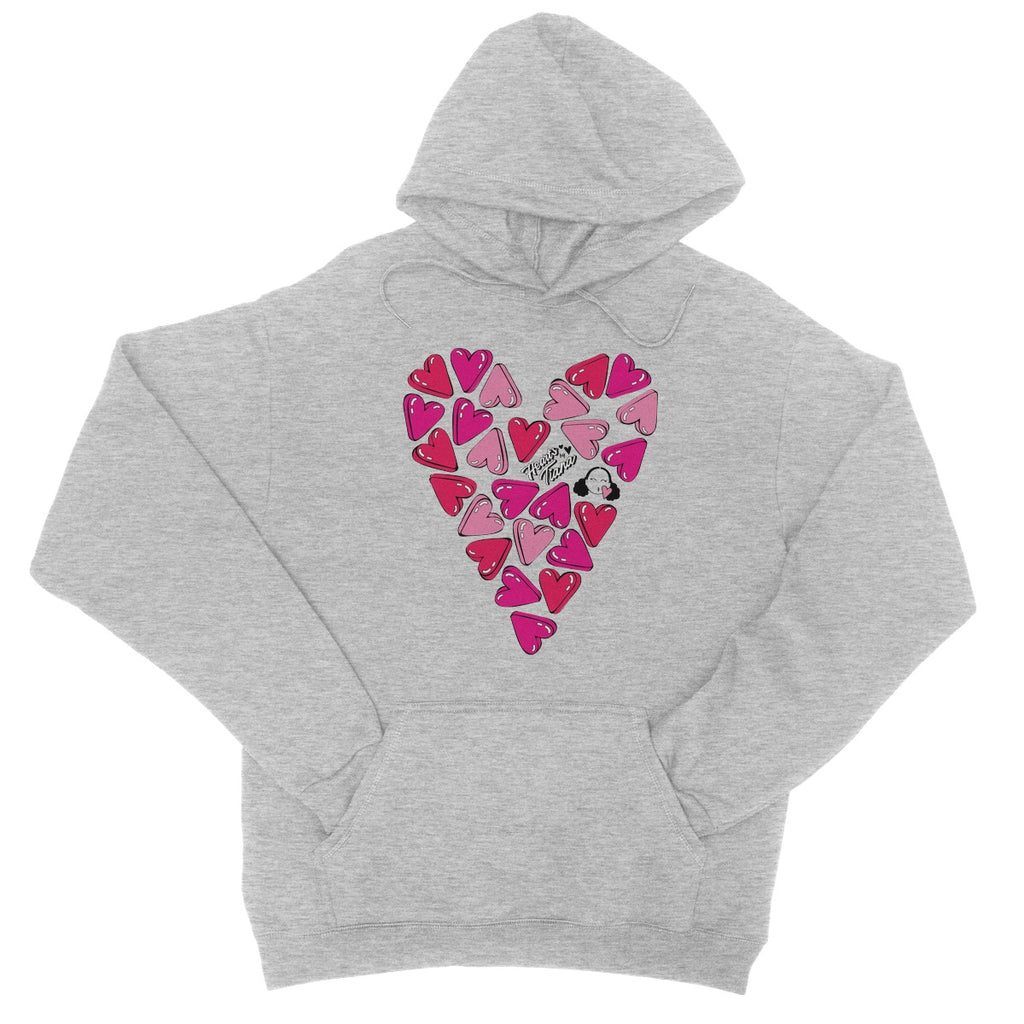 Hearts College Hoodie - Hearts By Tiana