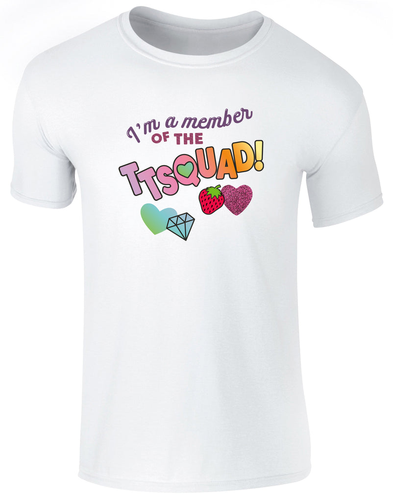 Hearts By Tiana - TTSQUAD T-Shirt in White
