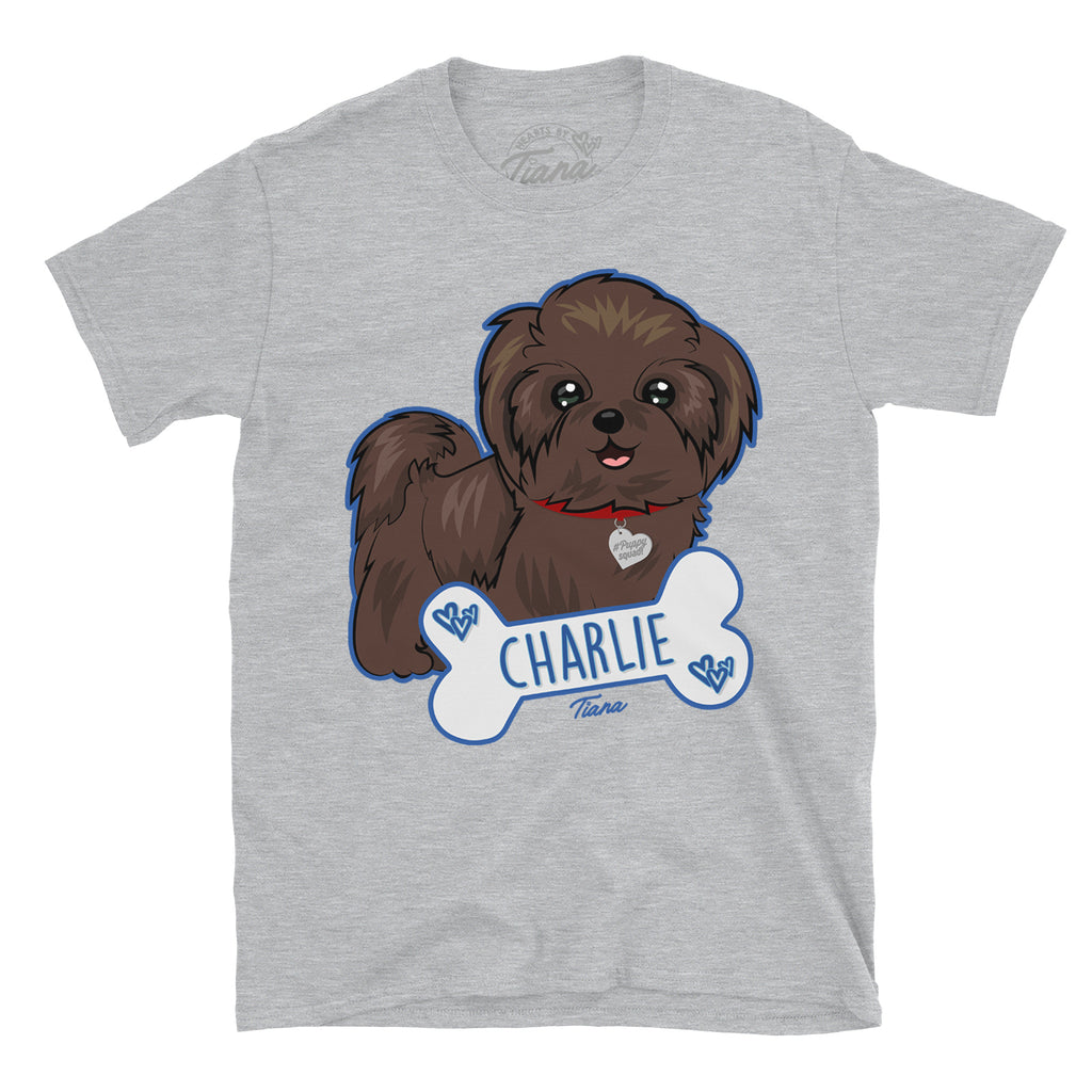 PuppySquad Charlie T-shirt - Hearts By Tiana