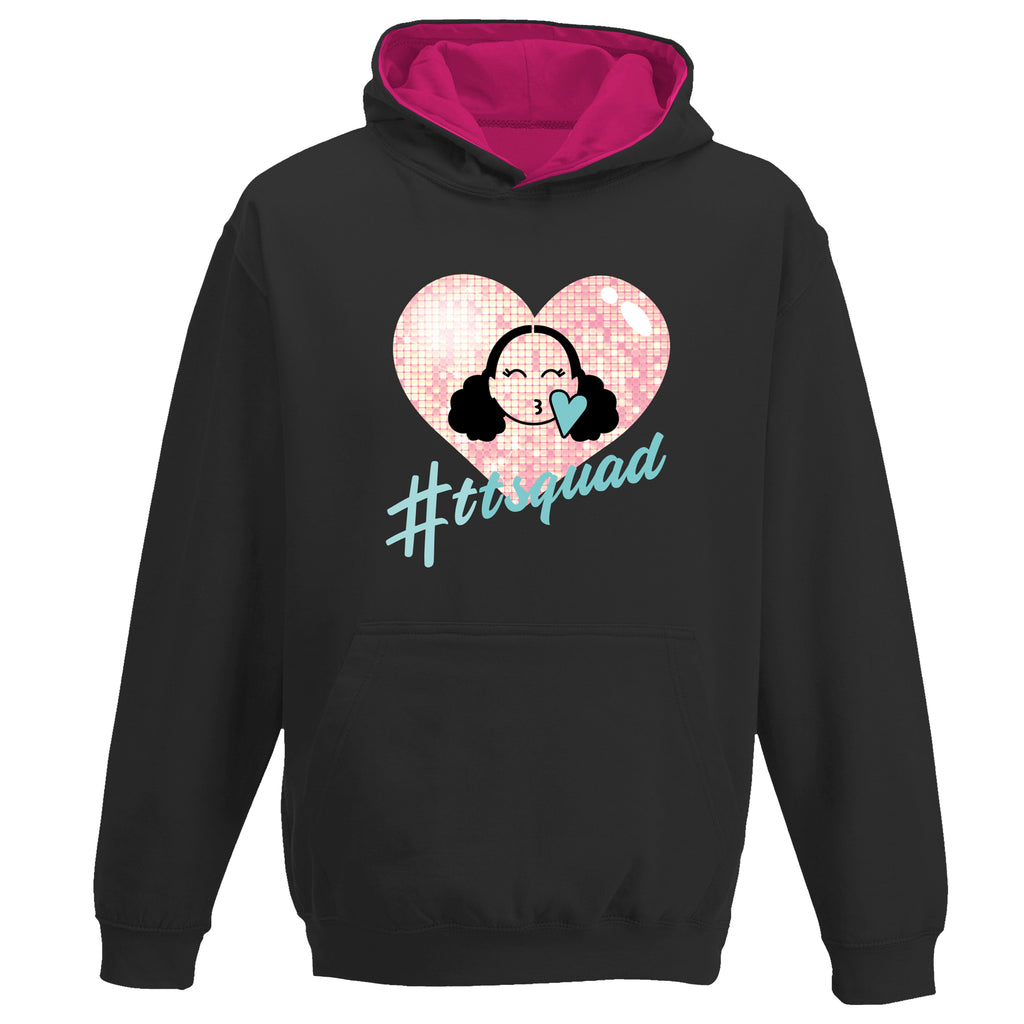 TTSQUAD Hoodie - Hearts By Tiana