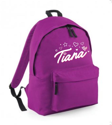 Tiana Purple Backpack
