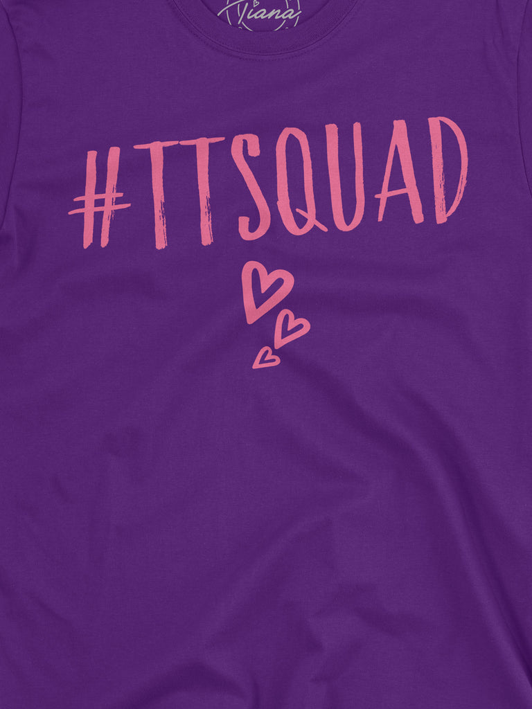 Purple TT Squad T Shirt