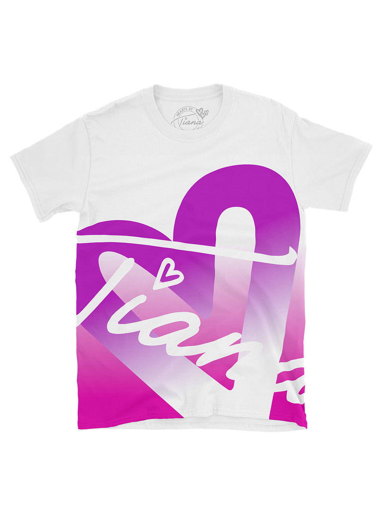 One Heart Purple T Shirt