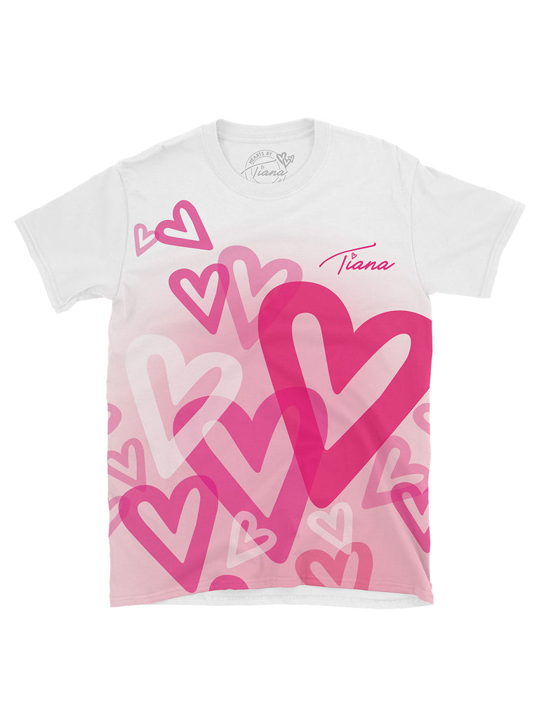 Multi Heart T Shirt