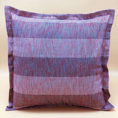 Stripe Ikat accent pillow