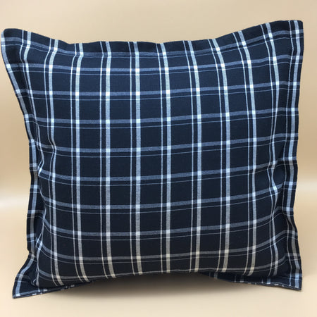 Banderado black & white checkered accent pillow