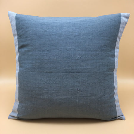 Abel Paoay grey accent pillow