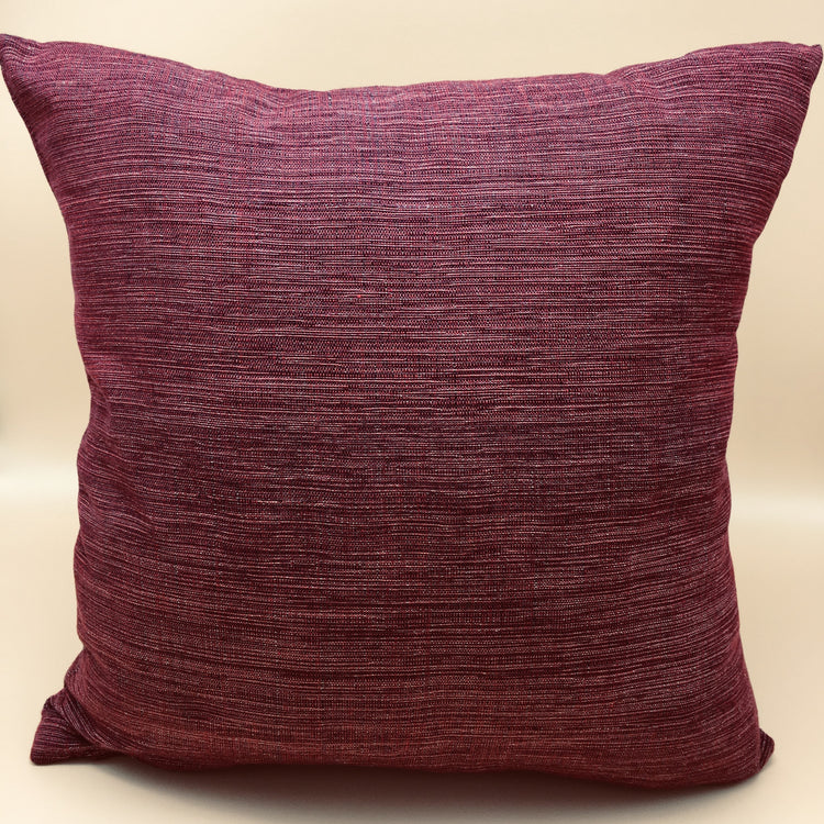 Annatto Ikat accent pillow