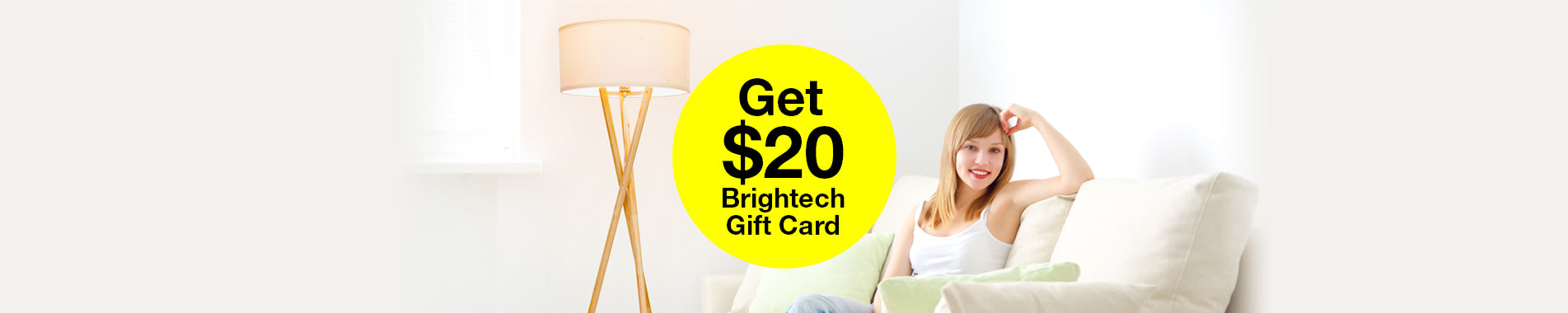Get a $20 Brightech Gift Card! Instagram Giveaway
