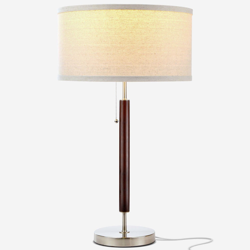 Carter Led Desk And Table Lamp For Bedrooms Vintage Look Shade Brightech
