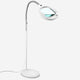 5 Diopter (2.25x) LightView Pro LED Magnifying Floor Lamp White