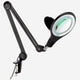 Black - 5 Diopter Lightview Clamp LED Magnifier: Perfect for Sewing, Knitting, Quilting