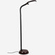 Havana Brown LiteSpan LED Floor Lamp: Living Room Free Standing Brigh Light Modern