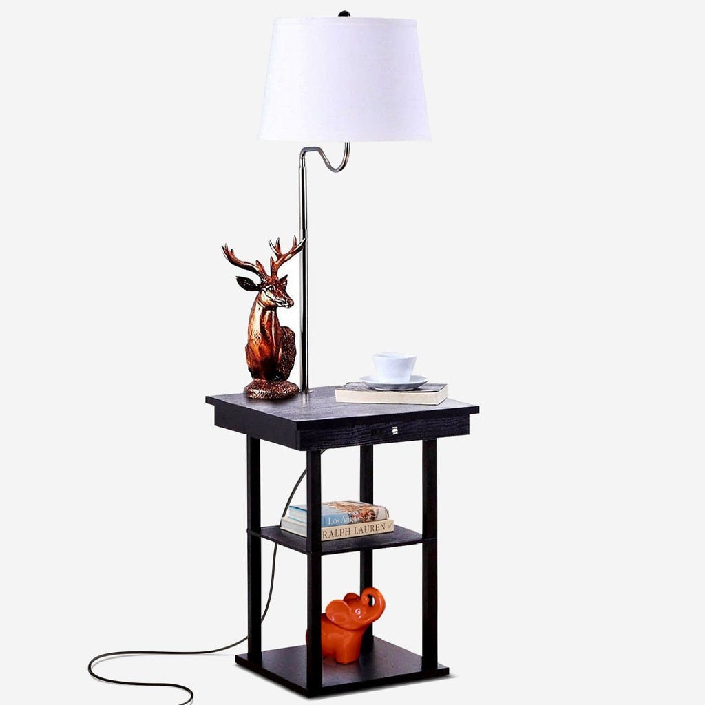 Madison Floor And Table Lamp Modern Shelves And Lighting For