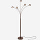 Oil Brushed Bronze Orion 5 LED Floor Lamp: Tree Branch Sci-fi Outwardly Facing