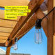 Ambience Pro Edison - Waterproof String Lights, Filament Bulbs - 48 Ft Ambience Pro Edison Bulb Outdoor String Lights: Waterproof, Commercial Grade