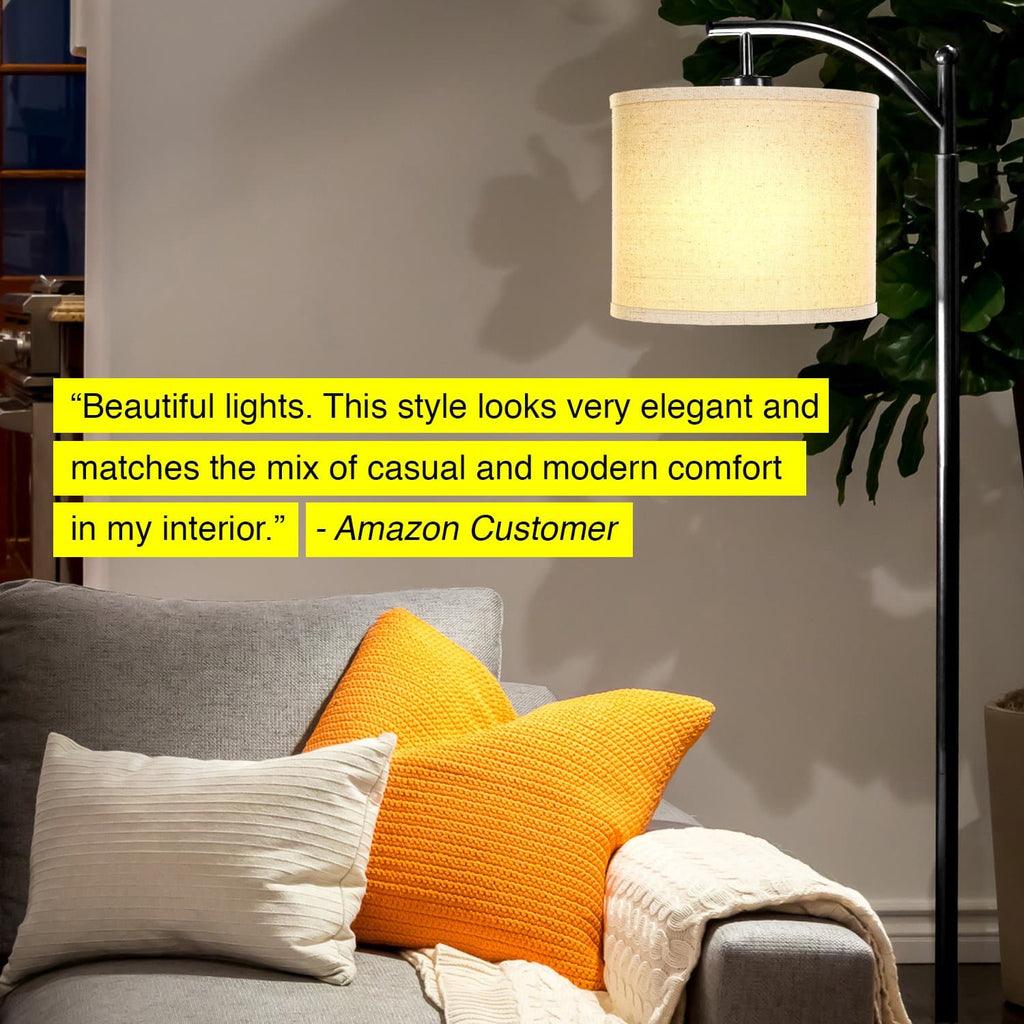 Montage - LED Floor Lamp, Classic Pole and Arc Reading Light