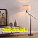 Ava - LED Floor Lamp for Living Rooms - Bright Reading Downlight Ava LED Floor Lamp: Living Room Tall Height Adjustable Free Standing