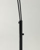 Black Trilage - Modern LED Arc Floor Lamp Marble Base, 3 Hanging Lights,