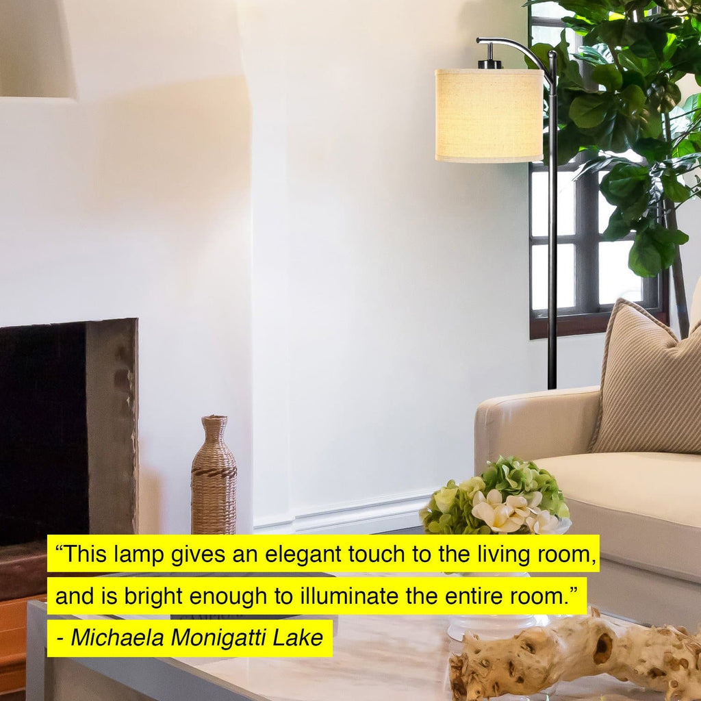 Montage Floor Lamp: Classic Living Room Pole and Arc Light ...