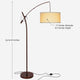 Oil Brushed Bronze Grayson LED Floor Lamp: Modern light for your living and dining room