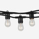 Ambience Vintage Cafe - Waterproof Outdoor Incandescent String Lights Waterproof Outdoor Incandescent String Lights - Hanging Vintage 11W
