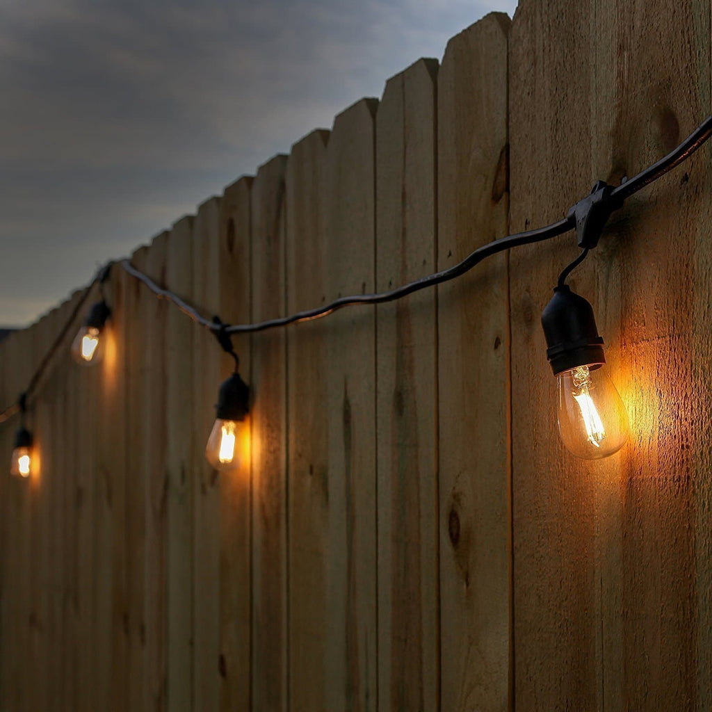 Ambience Pro LED 1W - Waterproof LED Outdoor String Lights Ambience Pro Outdoor String Lights: LED Hanging WaterProof 1Watt