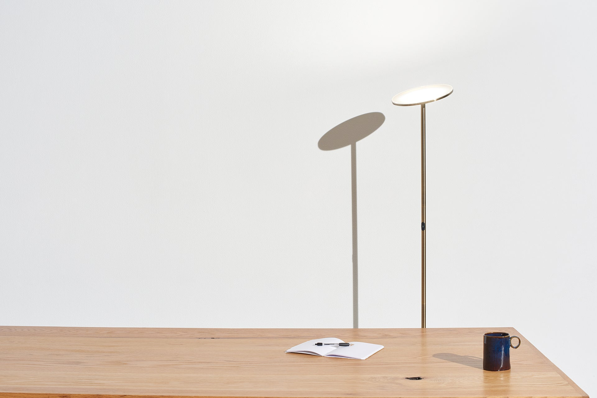 for Your Living Room /& Office Halogen Lamp Alternative with 3 Light Options Incl Bronze The Very Brightest LED Torchiere Floor Lamp Brightech Sky Flux Daylight Dimmable Modern Uplight