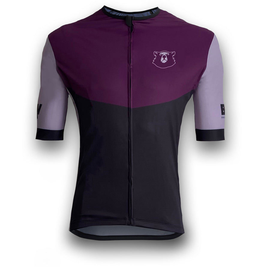BRAV Cycle Jersey (Grape/Gravel)
