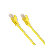 5Ft Cat5E Utp Ethernet Patch Cable 350Mhz 24Awg Yellow