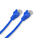Cat-5e UTP Ethernet Network Cable RJ45 Lan Wire Blue 10FT