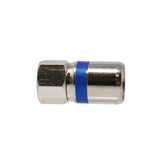 RG6 Dual Shield Coaxial Self Lock F-Type Compression Connector