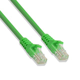Cat-6 UTP Ethernet Network Cable RJ45 Lan Wire Green 5FT
