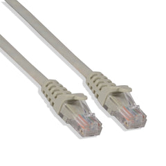Cat-5e UTP Ethernet Network Cable RJ45 Lan Wire Gray 2FT