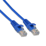 1FT Cat5e UTP Ethernet Network Patch Cable RJ45 Lan Wire Blue (25 Pack)