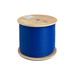 1000ft Cat6a Utp Cable Bulk 23Awg Cmr Riser Blue