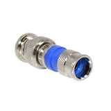 BNC Compression Connector Adapter for RG6 Coax Cable Dual Shield CCTV