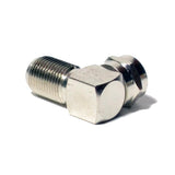 90 Degree Right Angle F RG6 RG59 Coaxial Coax Connector Adapter