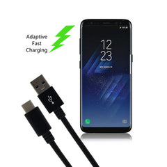 USB C to USB 2.0 Black 3FT