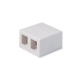 2 Port Surface Mount Box