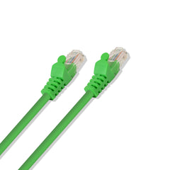 Cat-6 UTP Ethernet Network Cable RJ45 Lan Wire Green 10FT