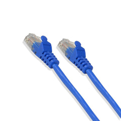 10Ft Cat6 Utp Ethernet Patch Cable 550Mhz Blue