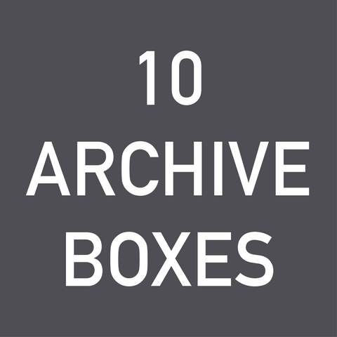 Archive Box Pack