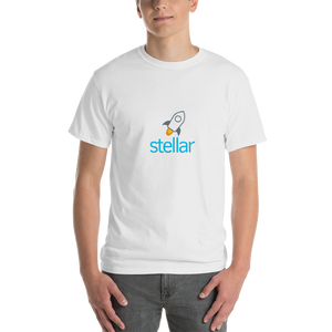 bitcoin hat club - Short-Sleeve Stellar T-Shirt [XLM]