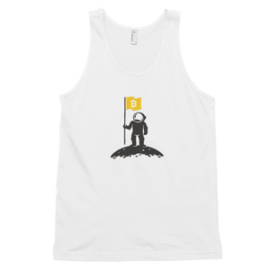 bitcoin hat club - To the Moon! Sweet Unisex Bitcoin Astronaut Tank Top [BTC]
