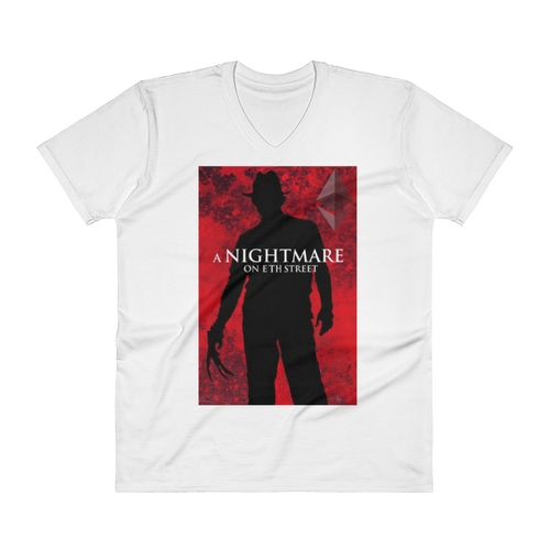 bitcoin hat club - Nightmare on ETH Street Crypto T-Shirt | Bitcoin Hat Club