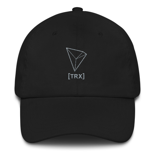 bitcoin hat club - Tron Dad Hat - [TRX]