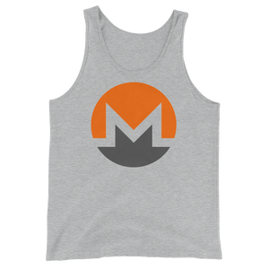 bitcoin hat club - Monero Unisex Tank Top [XMR]