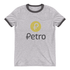 bitcoin hat club - Petro Ringer T-Shirt