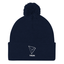 bitcoin hat club - TRON Pom Pom Knit Hat [TRX]